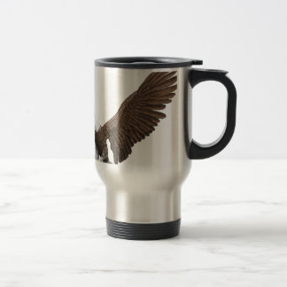 Bald Eagle Coming In For A Landing Travel Mug