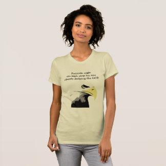 Bald Eagle Commentary on Modern Politics T-Shirt