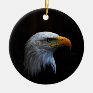 Bald Eagle copy.jpg Round Ceramic Decoration