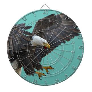 Bald eagle dartboard