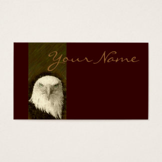 Bald Eagle Design Business Card