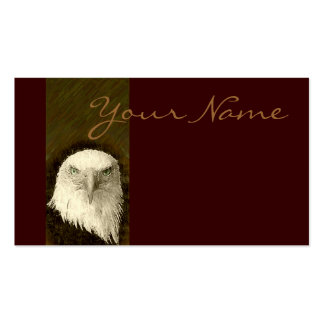 Bald Eagle Design Pack Of Standard Business Cards