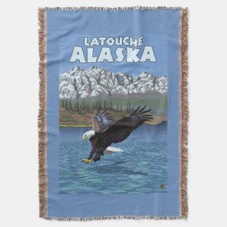 Bald Eagle Diving - Latouche, Alaska