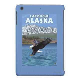 Bald Eagle Diving - Latouche, Alaska iPad Mini Cover