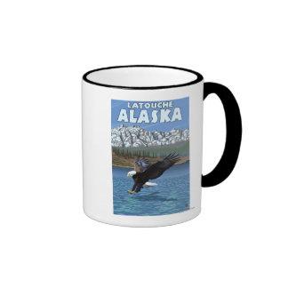 Bald Eagle Diving - Latouche, Alaska Mug