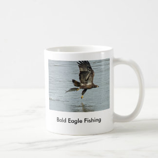 Bald Eagle Fishing Coffee Mug