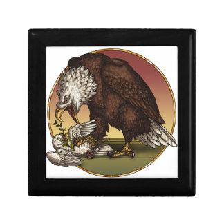 Bald eagle gift box