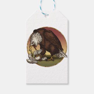 Bald eagle gift tags