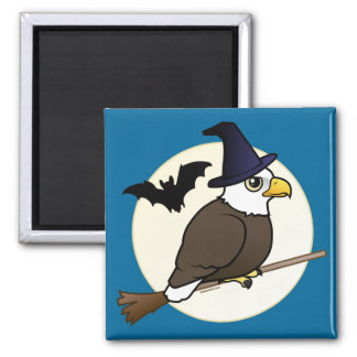 Bald Eagle Halloween Magnet