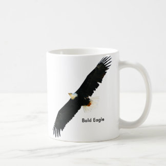 Bald Eagle image for Classic-White-Mug Coffee Mug