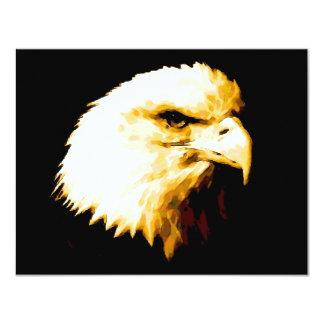 """Bald Eagle 4.25"""" X 5.5"""" Invitation Card"""