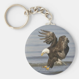 bald eagle key ring
