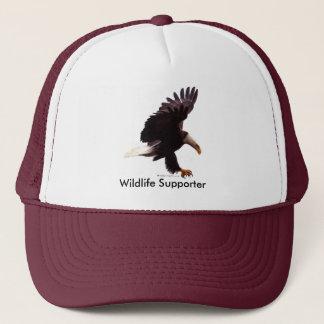 BALD EAGLE Landing Design Trucker Hat