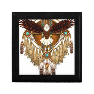 Bald Eagle Mandala - revised Gift Box