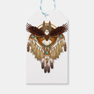 Bald Eagle Mandala - revised Gift Tags