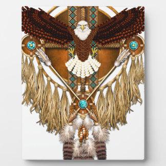 Bald Eagle Mandala - revised Plaque