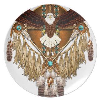 Bald Eagle Mandala - revised Plate