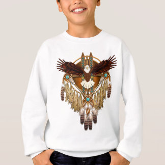 Bald Eagle Mandala - revised Sweatshirt