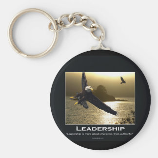Bald Eagle Motivational Gifts Key Ring