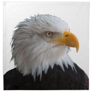 Bald eagle napkin