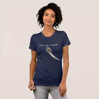 Bald eagle on women's T shirt