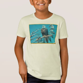 Bald Eagle Organic T-Shirt for Kids