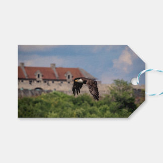 Bald Eagle passing Fort Ticonderoga Gift Tags