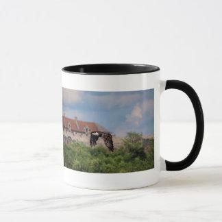 Bald Eagle passing Fort Ticonderoga Mug