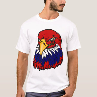 Bald eagle patriotic American T-Shirt