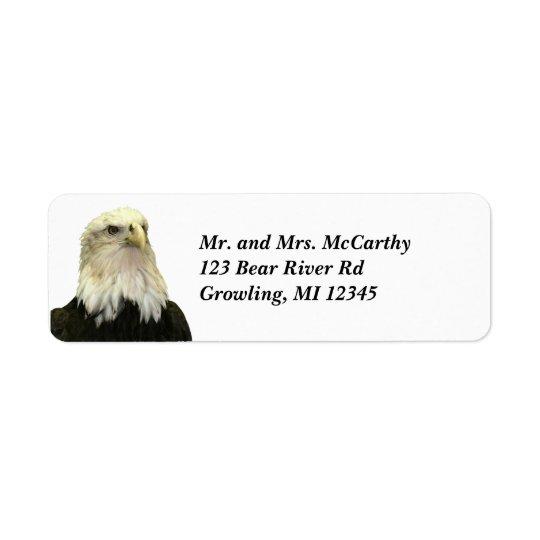 Bald Eagle Return Address Avery Label Return Address Label