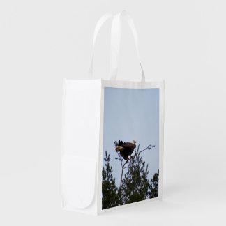 Bald Eagle Reusable Grocery Bag
