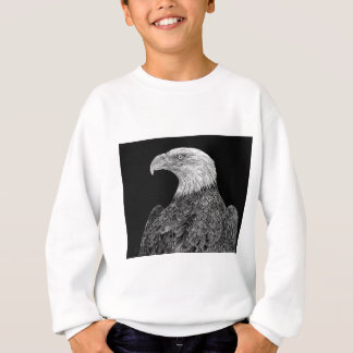 Bald Eagle Scratchboard Sweatshirt