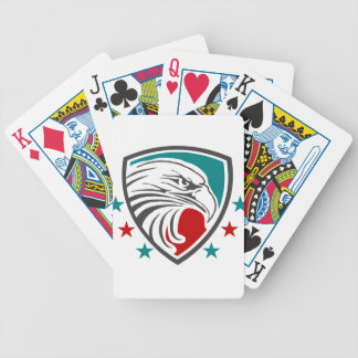 Bald Eagle Security And Protection Bicycle Playing Cards