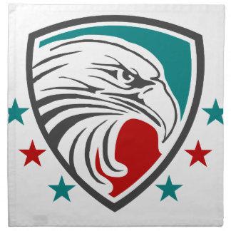 Bald Eagle Security And Protection Napkin