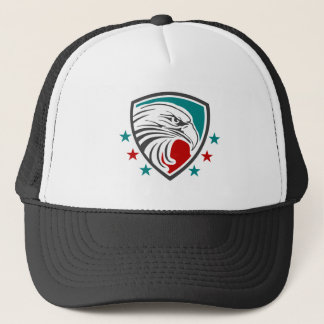 Bald Eagle Security And Protection Trucker Hat