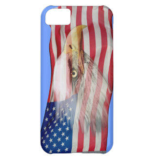 Bald Eagle Spirit & US Flag Patriotic Phone Case