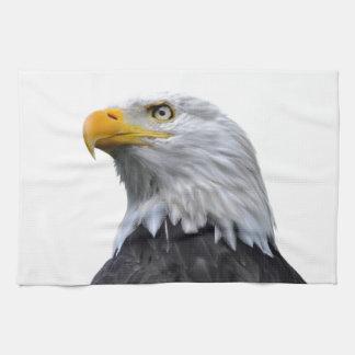 Bald Eagle Tea Towel