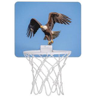 Bald Eagle with a fish Mini Basketball Hoop