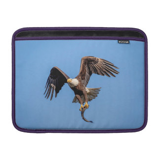 Bald Eagle with a fish Sleeve For MacBook Air