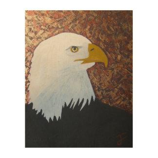 Bald Eagle Wood Wall Art