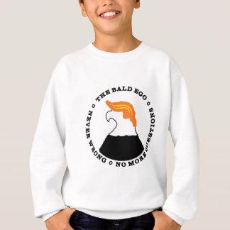 Bald Ego Is Never Wrong (light) Sweatshirt