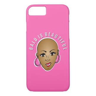 Bald is beautiful iPhone 7 case