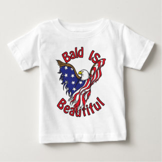 Bald is Beautiful - style4 Baby T-Shirt