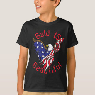 Bald is Beautiful - style4 T-Shirt
