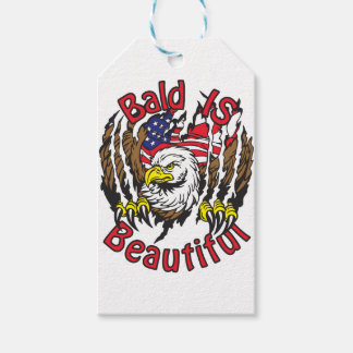 Bald is Beautiful - style5 Gift Tags