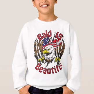 Bald is Beautiful - style5 Sweatshirt