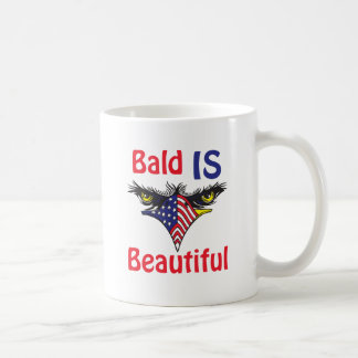 Bald is Beautiful  - style 2 Coffee Mug