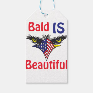 Bald is Beautiful  - style 2 Gift Tags