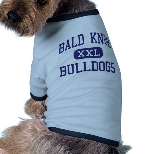 Bald Knob Bulldogs Middle Bald Knob Arkansas Dog Clothes