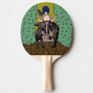 Bald Men - Ping Pong Paddle